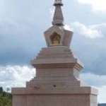 First Stupa Built in Portugal