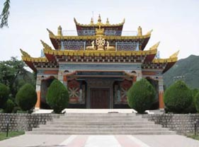 Buddhist Temple @ Deer Park Institute (image from www.grain.org)