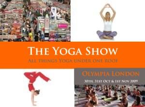 UK - London: The Yoga Show 2009