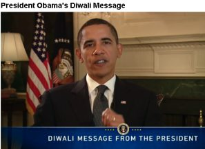YouTube: President Obama's Diwali Message, 2009