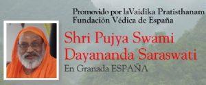 Spain: Swami Dayananda in Granada and Madrid