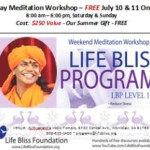 USA: 2-Day Meditation Workshop at the Nithyananda Vedic Temple in California