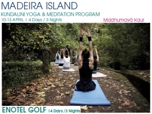 Portugal: MADEIRA ISLAND Yoga Retreat