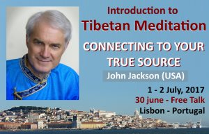 Portugal: Workshop – Introduction to Tibetan Meditation – Connecting to your True Source – with John Jackson (USA)