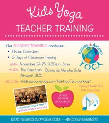 Portugal: Kids Yoga – TEACHER TRAINING – with Haris Lender – Algarve