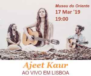 Portugal: AJEET KAUR Live in Lisbon – Museu do Oriente – March, 2019