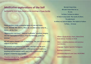 Portugal: Meditative explorations of the Self – with Juan Yusta – Lisbon