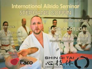 Portugal: INTERNATIONAL AIKIDO SEMINAR with STÉPHANE GOFFIN – Faro – Algarve