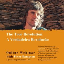 Portugal: WEBINAR: 25 de abril – A Verdadeira Revolução / The True Revolution