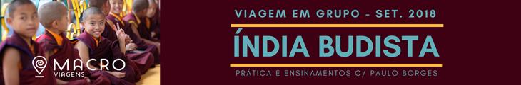 Viagem à Índia Budista - Setembro 2018