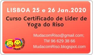 Formação Internacional Certificada de LÍDER DE YOGA DO RISO – c/ Kyra