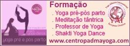 Formação em Yoga pelo Centro Padma Yoga
