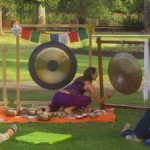 Braga: Centro Padma Comemora Aniversário. Taças Tibetanas e Massagem de Som em 2009