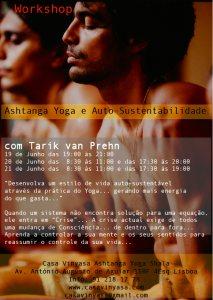Lisboa: Workshop de Ashtanga Vinyasa Yoga e Auto-sustentabilidade