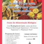Lisboa: Curso de Alimentação Biológica com Rosângela de Castro