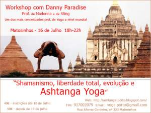 Matosinhos: Workshop com Danny Paradise
