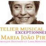 França: Oficina Musical Excepcional, com Maria João Pires, Dominique Bertrand  Lama e Mingyour