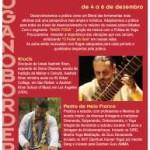 Brasil: Mahá Sádhana de Nada Yoga com Pedro Melo Franco e Krucis na Ecovila Visão Futuro