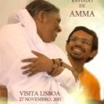Portugal: Shubamrita, enviado de Amma, em Lisboa, Meditação em Fátima