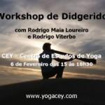 Portugal: Workshop de Didgerido com Rodrigo Maia Loureiro e Rodrigo Viterbo