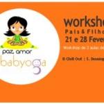 Portugal: Workshop Pais & Filhos de Babyoga  com Sandra Matos