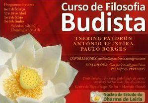 Portugal: Curso de Filosofia Budista - Núcleo de Estudo do Dharma de Leiria