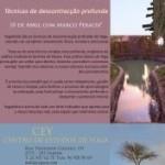 Portugal: Workshop de Yoganidrá – Técnicas de Descontracção Profunda do Yoga, no CEY com Marco Peralta