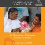 Portugal: Brahmachari Shubamrita Chaitanya, Enviado da Amma, em Lisboa