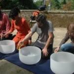 Portugal: Workshop de Voz e Taças de Cristal e Tibetanas na Quinta da Regaleira