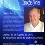 """Portugal: Conferência """"Lidando com Emoções Fortes"""" por Charlie Hogg da Brahma Kumaris"""