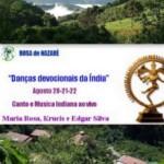 Brasil: Danças Devocionais da Índia com Maria Rosa, Krucis e Edgard Silva
