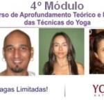 Brasil: 4º Módulo do Curso de Aprofundamento Teórico e Prático das Técnicas do Yoga