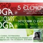 Portugal: Workshop 'Yoga Dos 5 Elementos' e Master Class por Sofia e Jay na Dancelife em Matosinhos