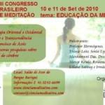 Brasil: VIII Congresso Brasileiro de Meditação – Educação da Mente
