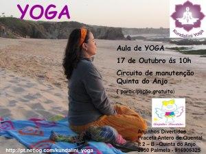 Portugal: Aula aberta de Kundaliní Yoga na Quinta do Anjo Com Bhajanjot Singh
