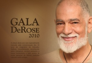 Portugal: DeRose de Visita Portugal e Gala DeRose 2010