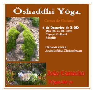 Portugal: Curso de Ôshaddhi Yôga por João Camacho no Montijo