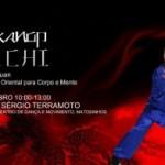 Portugal: Workshop de Tai Chi na Dancelife de Matosinhos pelo Mestre Sérgio Terramoto