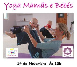 Portugal: Aula Aberta de Yoga Mamãs e Bebés com Jai Gopal Kaur