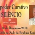 """Portugal: """"O Poder Curativo do Silêncio"""" por Charlie Hogg na Brahma Kumaris"""
