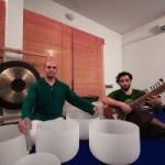 Portugal: Viagem Sonora com Taças de Cristal, Sítar e Voz por João Silva, Mário Rurouni e Lucy Rodrigues em Portalegre