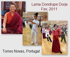 Portugal: Artes Internas de QiGong e Chan Ding Taijiquan Pelo Ven. Lama Dondrup Dorje