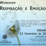 Portugal: Workshop Respiração e Emoção no Espaço Telheiras em Lisboa