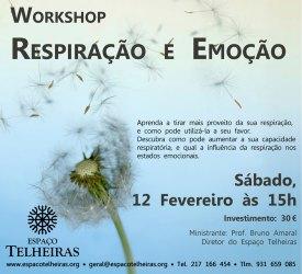 Portugal: Workshop Respiração e Emoção no Espaço Trelheiras em Lisboa