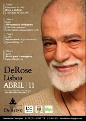 Portugal: DeRose Lisboa'11 - Cursos e Lançamento do Livro Karma e Dharma