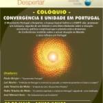 """Portugal: Colóquio """"Convergência e Unidade em Portugal"""" na ESMTC em Lisboa"""