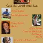 Portugal: A Casa Ganapati no Porto Apresenta Pedro Kupfer, Glória Arieira, Tomás Zorzo e Swami Suddhananda