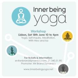 Portugal: Pela Primeira Vez em Portugal Workshop de Inner Being Yoga