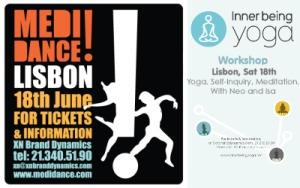 Portugal: Pela Primeira Vez em Portugal Workshop de Inner Being Yoga e Medidance