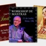 Portugal: Visita do Famoso Intérprete de Kírtan Vaiyasaki Das